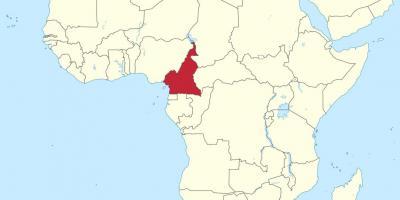 Cartina Africa In Italiano.Camerun Mappa Mappe Camerun Centro Africa Africa